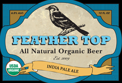 Feather Top Organic Beer